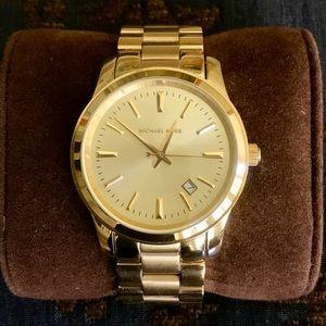 Michael Kors MK 5160 Gold Runway watch